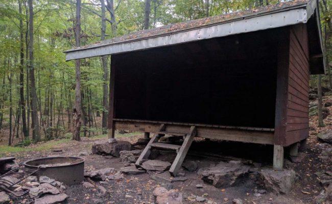 3 wall shelter