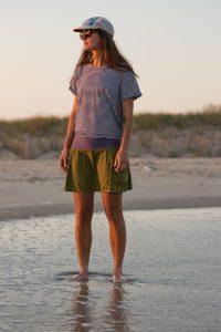 skirt on beach